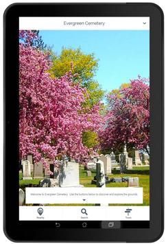 Evergreen Cemetery apk screenshot