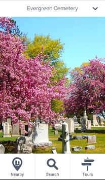 Evergreen Cemetery poster