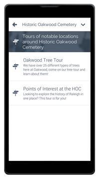 Historic Oakwood Cemetery screenshot 1