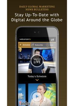 Webcertain TV poster
