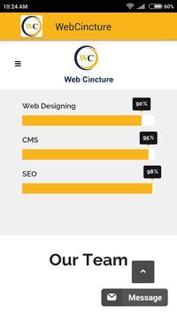 WebCincture apk screenshot