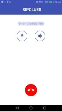 SIPClues - SIP VOIP Softphone screenshot 1