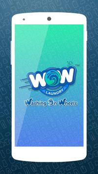 WOW Laundry poster