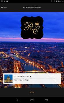 Royal Cardinal Hotel Paris apk screenshot
