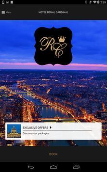 Royal Cardinal Hotel Paris poster