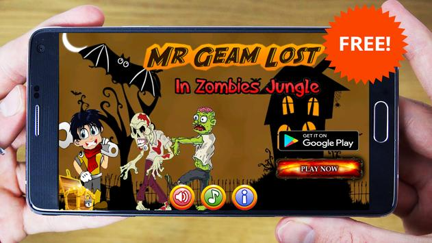 Mr-Geam Lost in Zombies Jungle poster