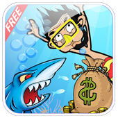 Mr Beam Diving in Shark Jungle icon