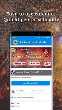 Lucknow Event Friends screenshot 1
