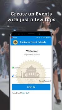 Lucknow Event Friends screenshot 4