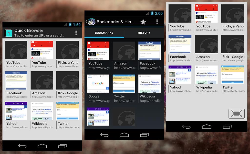 Quick Browser and Explorer for Android - APK Download