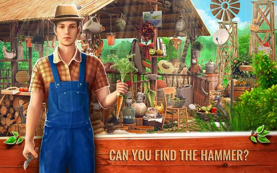 Hidden Object Farm Games - Mystery Village Escape poster