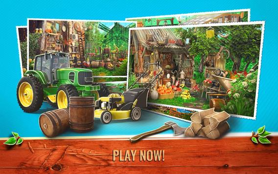 Hidden Object Farm Games - Mystery Village Escape screenshot 13