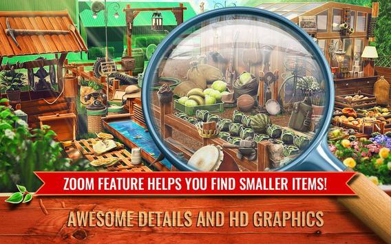 Hidden Object Farm Games - Mystery Village Escape screenshot 1