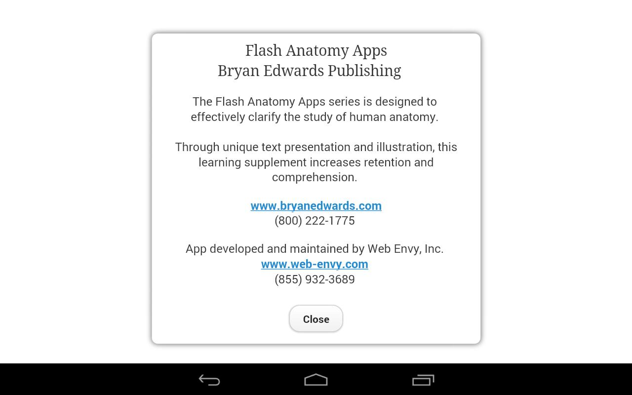 Flash Anatomy Muscles - Free APK Download - Free Education APP for ...