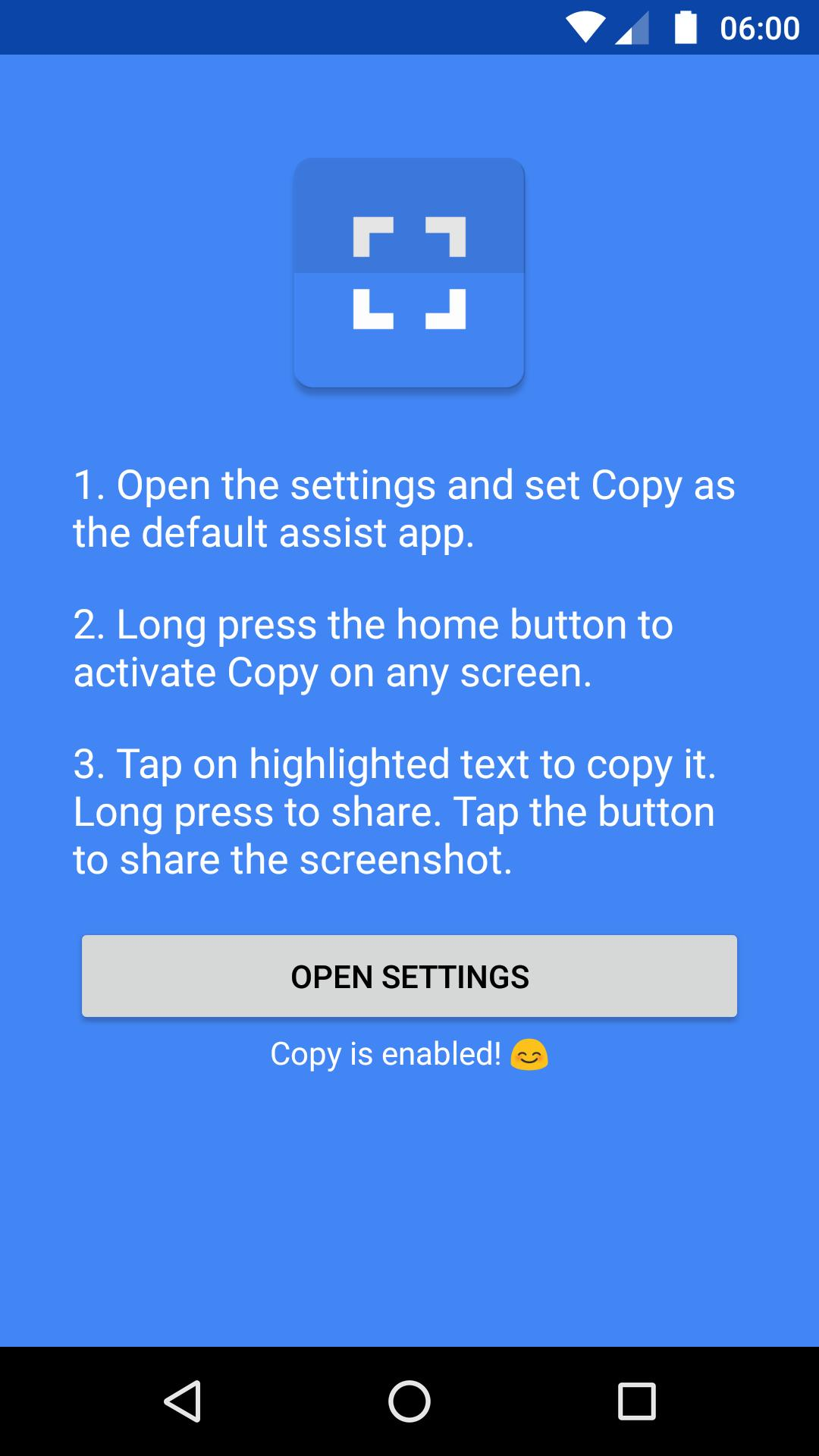 Copy for Android - APK Download