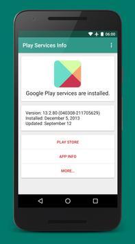 Play服务信息(Play Services Info) 截图 3