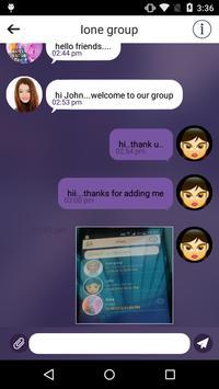 iOne – Online Chatting App apk screenshot