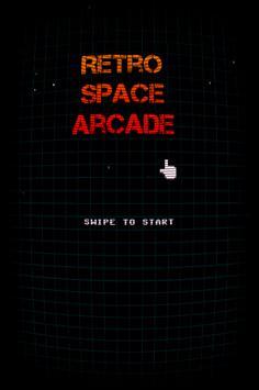 Retro Space Arcade poster