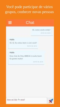 Meu BBB18 - Paredão, Chat, Quiz, Notícias... screenshot 1
