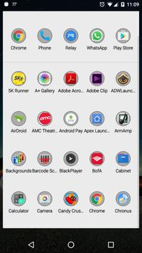 Darken - Icon Pack apk screenshot