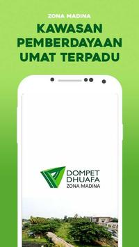 Zona Madina Dompet Dhuafa poster