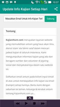 KajianHunt - InfoJadwalKajian apk screenshot