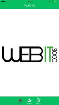 WebIT3000 poster