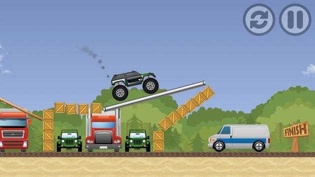 Big Monster Truck Driver apk screenshot