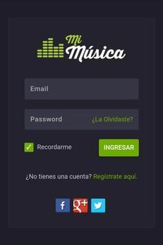 Mi Música screenshot 1