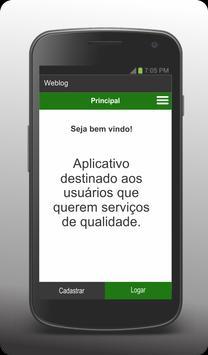 WebLog - Cliente poster