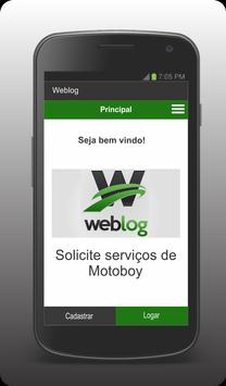 WebLog - Cliente screenshot 1