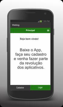 WebLog - Cliente screenshot 2