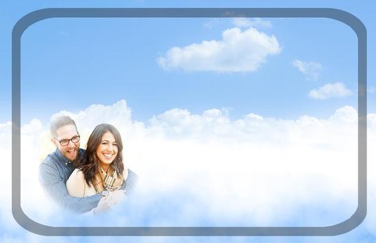 Sky Photo Frame poster