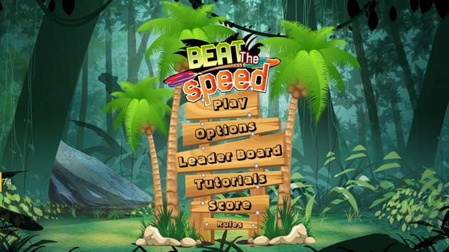 BEAT THE SPEED poster