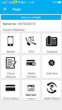 PayIn Mobile Recharge screenshot 1