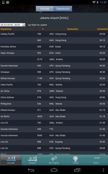 Jakarta Airport (CGK) Flight Tracker screenshot 4