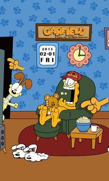 Home Sweet Garfield LW Lite apk screenshot
