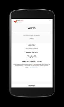 Web Prime Solutions apk screenshot