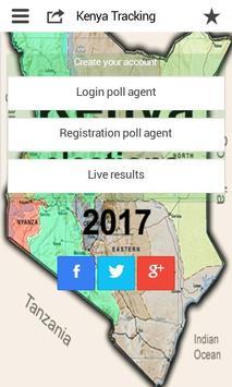 Kenya Elections  2017 Tracking poster