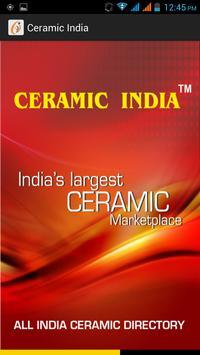 Ceramic India poster