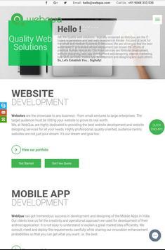 Webqua apk screenshot