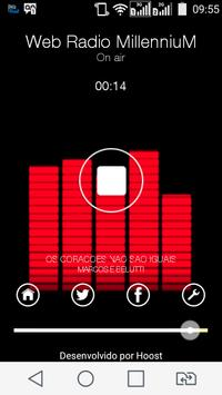 Web Radio Millennium apk screenshot