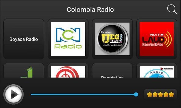Radio Colombia screenshot 1