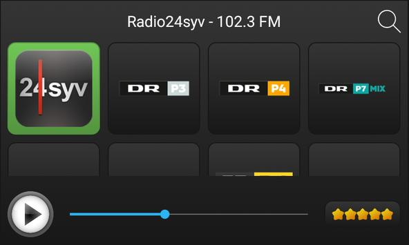 Radio Danemark apk screenshot