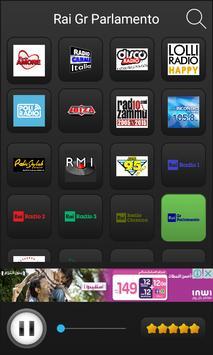 Radio italia online screenshot 3