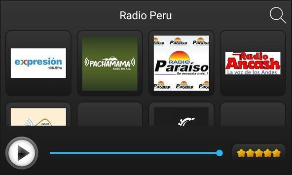 Radio Peru screenshot 2