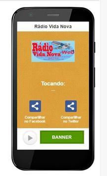 Rádio Vida Nova apk screenshot
