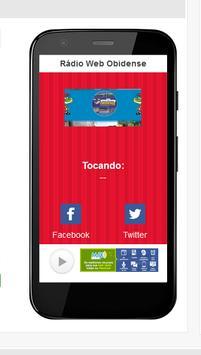 Rádio Web Obidense screenshot 5
