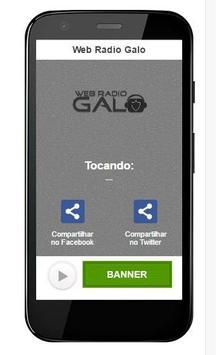 Web Radio Galo apk screenshot