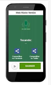 Web Rádio Verdão apk screenshot